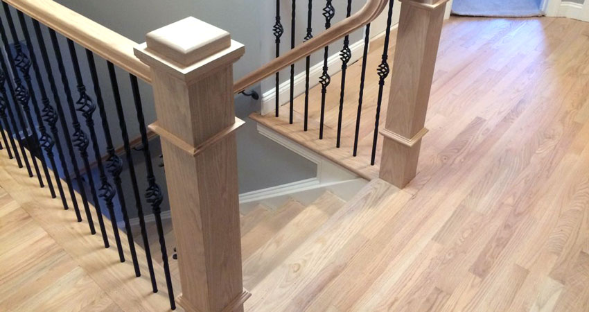 Refinishing Wood Stairs